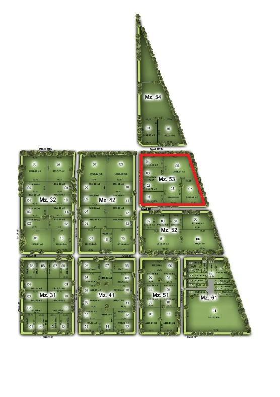 terreno 542  mts 2  -todos los servicios - altos de don carlos 1