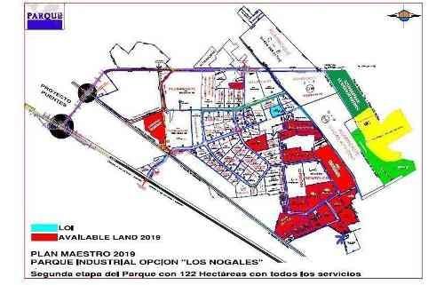 terreno 5500m2 parque industrial opcion