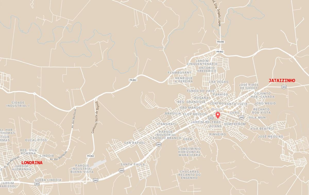 terreno 563m², residencial, ouro verde, ibiporã/pr