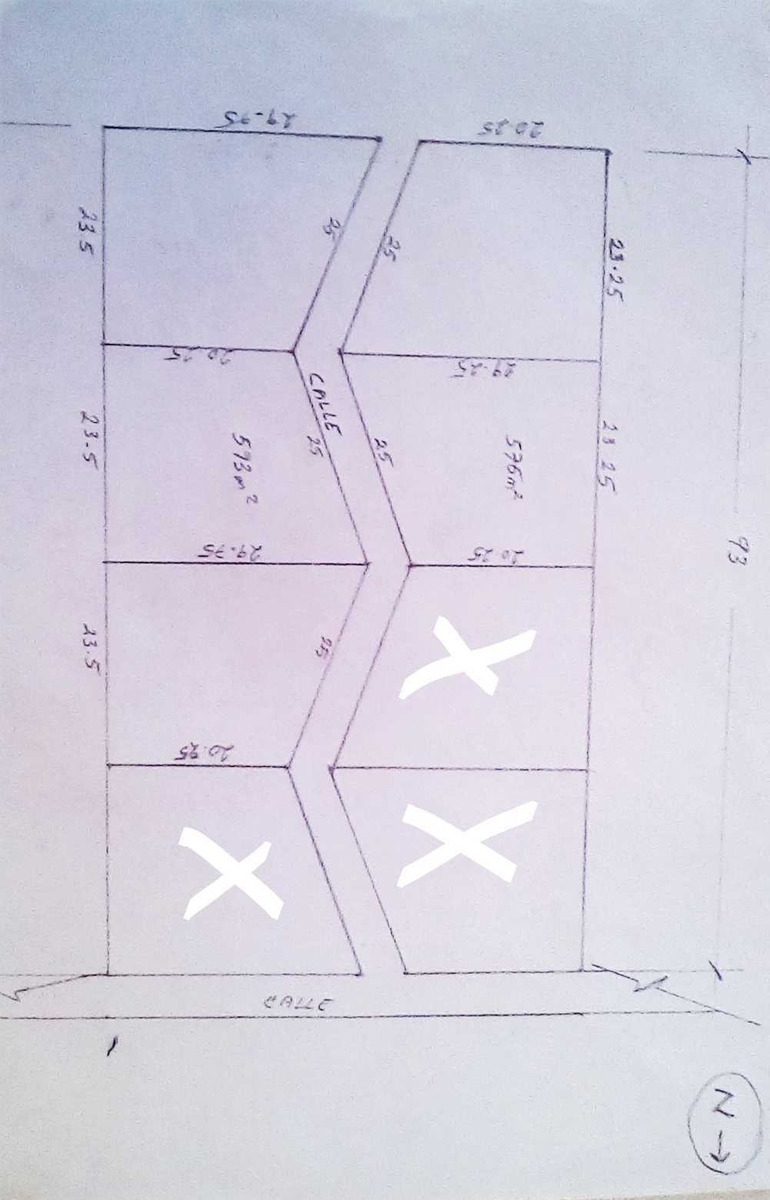 terreno 593 m2 esquina uso de suelo mixto totalmente plano