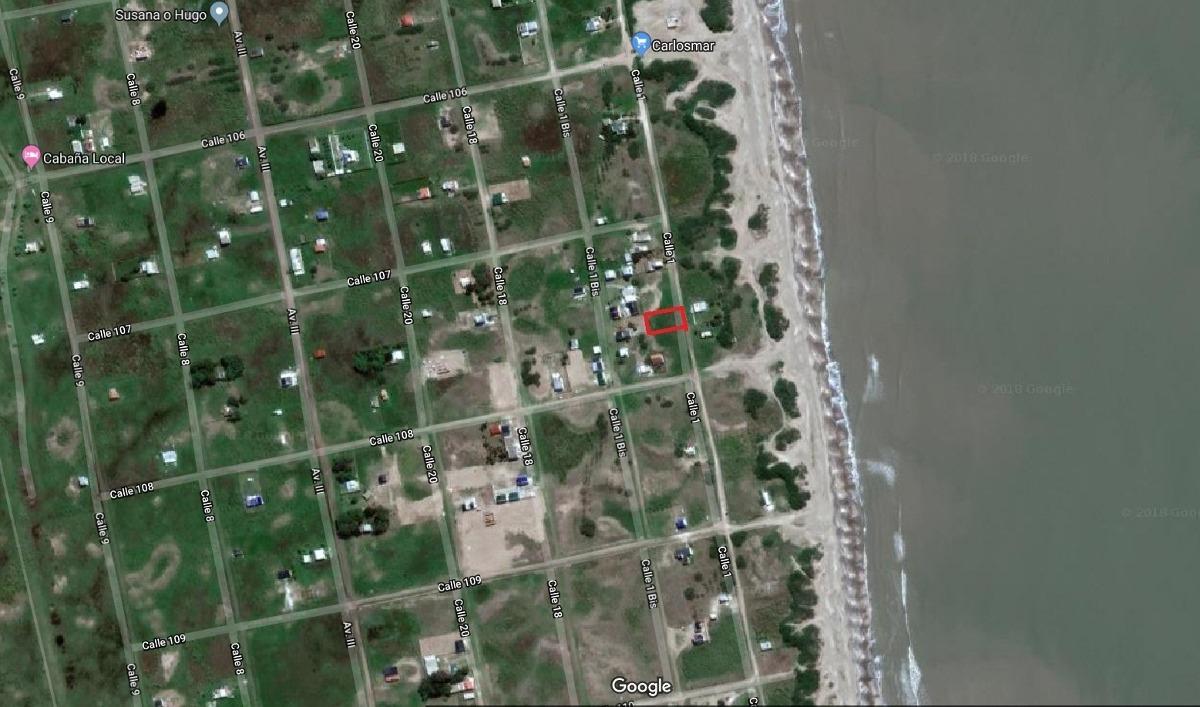 terreno 60 mts del mar en playa grande san clemente del tuyu