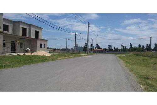 terreno 600 m2 en barrio abierto  parque matheu