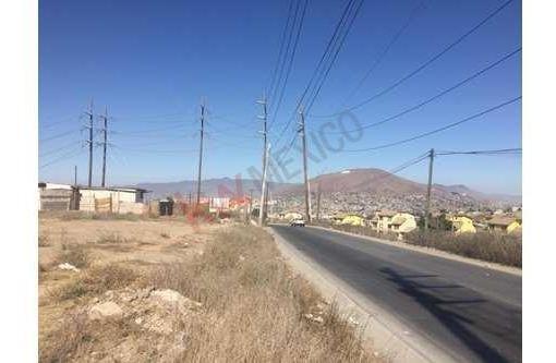terreno 6000m2 en avenida garcia, ideal para construcción de bodega