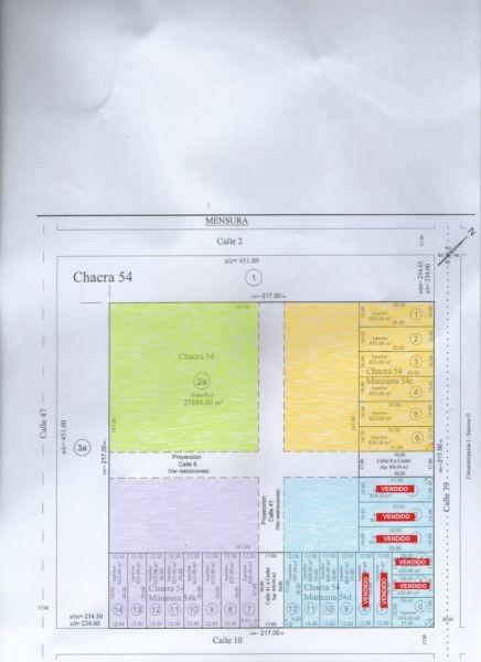 terreno 625 m2 a mts. av. circunvalación