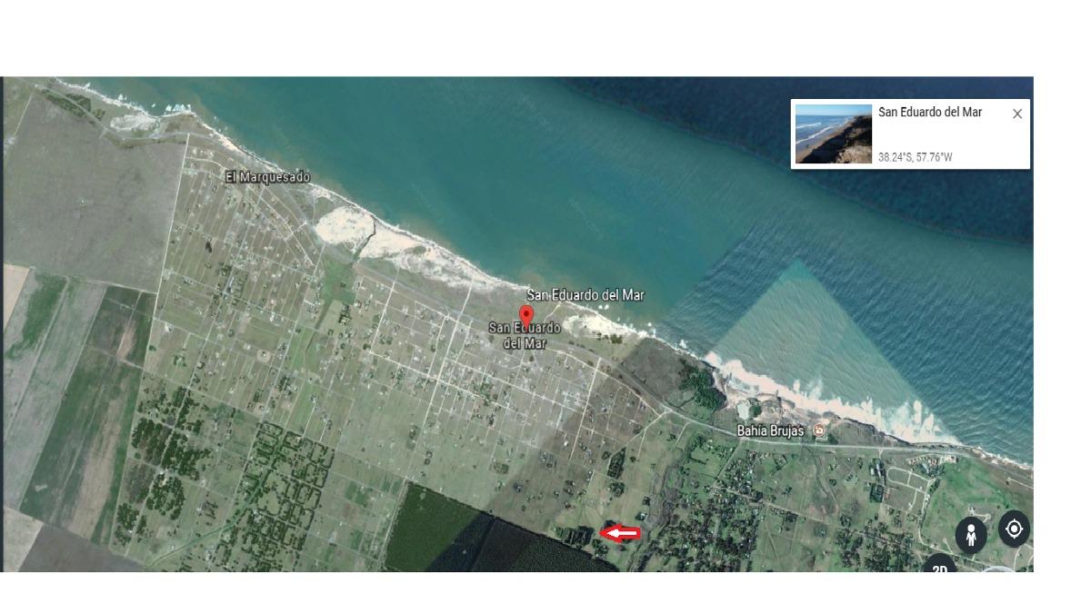 terreno 740 mts2 san eduardo del mar