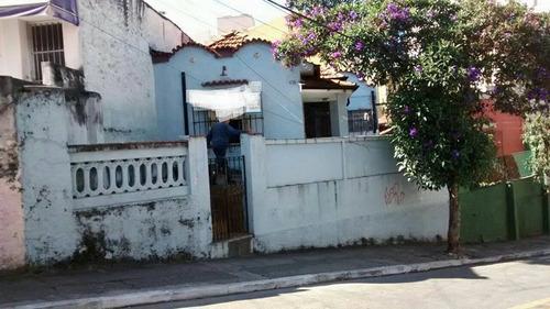 terreno 7x22  vila matilde com casa velha