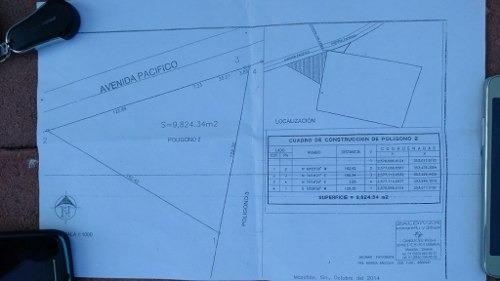 terreno 9,824 metros avenida del pacifico mazatlan sinaloa
