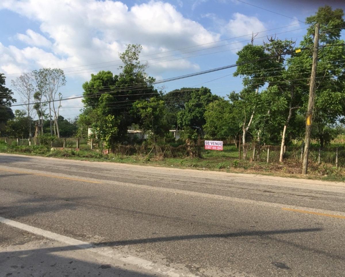 terreno a 1km de la ciudad de comalco, tabasco