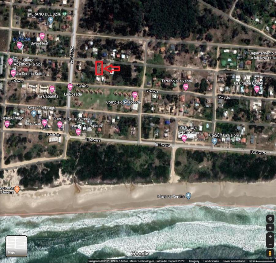 terreno a 300 metros del mar la paloma playa serena