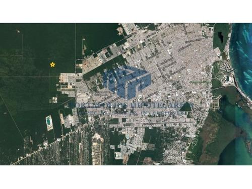terreno a desarrollar en cancun, mas de 50 hectareas