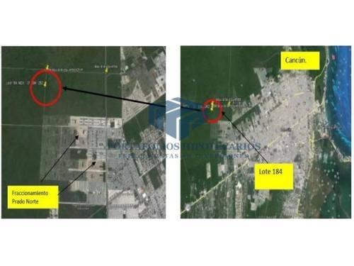 terreno a desarrollar en el centro de cancun