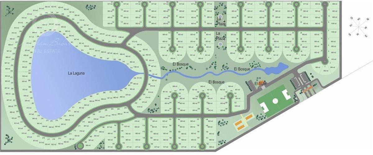 terreno a la venta en barrio privado cruz del sur canning