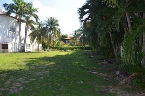 terreno a la venta isla dorada cancun con muelle