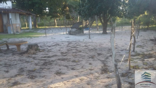 terreno a venda de 4,7ha beira a lagoa de boa água