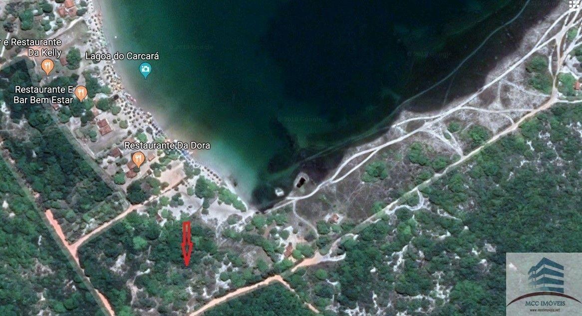 terreno a venda de 6979m2 a 600m da lagoa de carcará