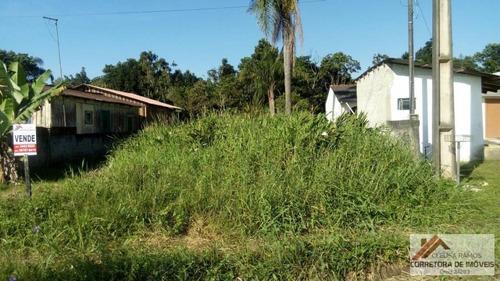 terreno a venda em guaratuba, coroados - 733595