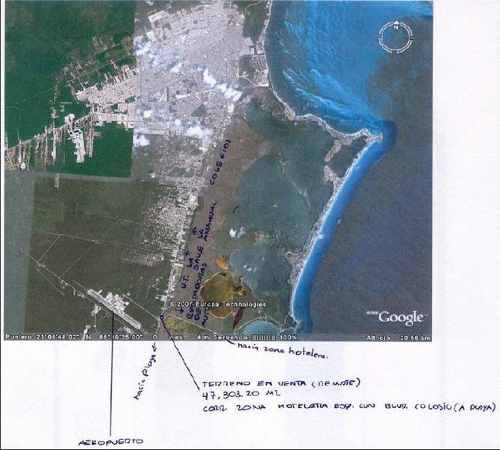 terreno aeropuerto cancun