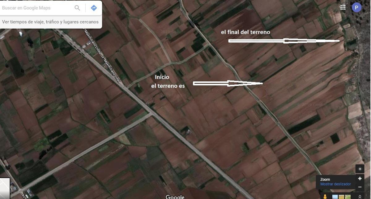 terreno agricola con riego  en venta en huachac