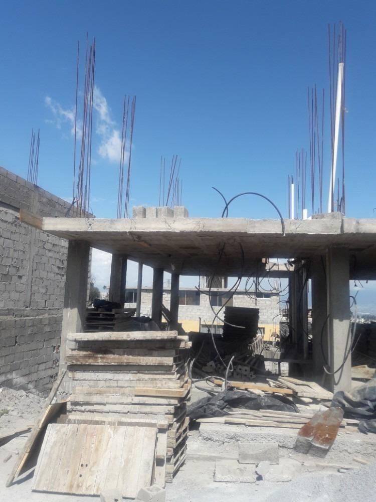terreno al norte 120m2 $29.900 con estructura para casa