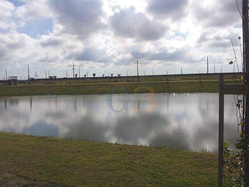 terreno alphaville, fundos lago, laranjal, pelotas. - te0659