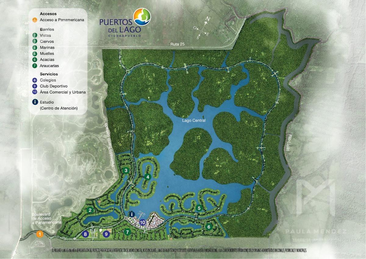 terreno - araucarias - puertos del lago