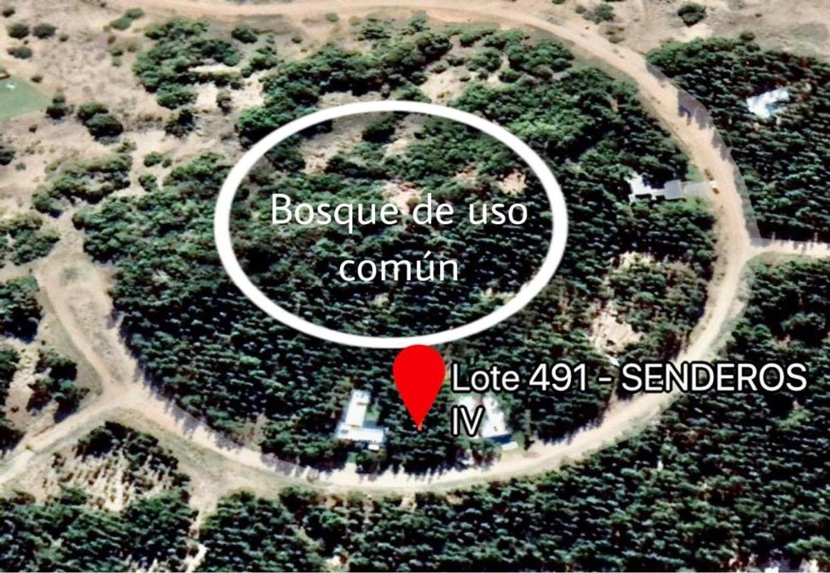 terreno arbolado costa esmeralda - senderos iv - lote 491
