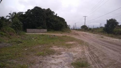 terreno aterrado no jardim diplomata, em itanhaém - ref 4776
