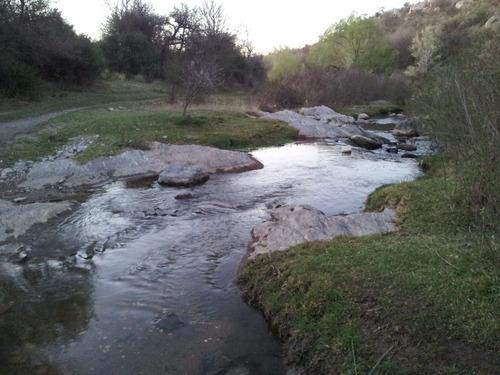 terreno autosustentable  aguas azules sección río 480 metros