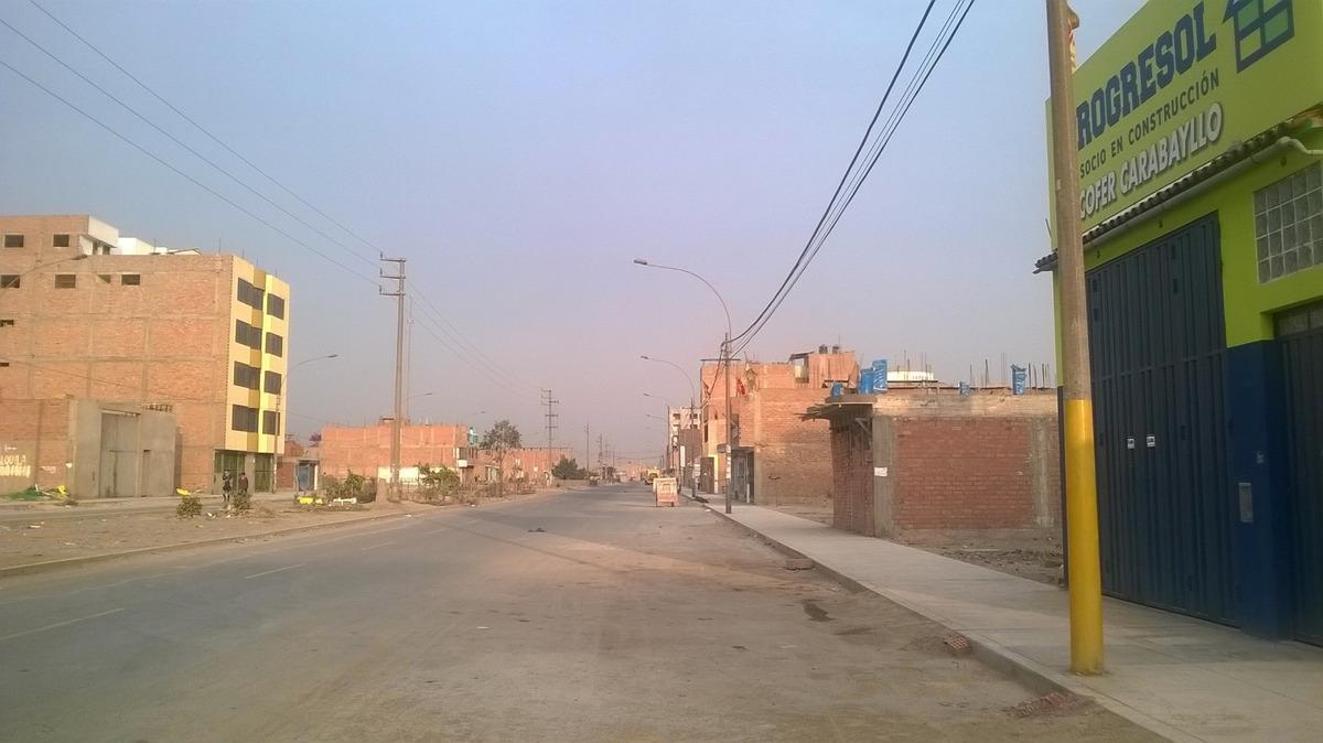 terreno avenida d - urb. san pedro de carabayllo