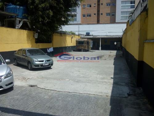terreno - b. jardim - santo andré - gl39496
