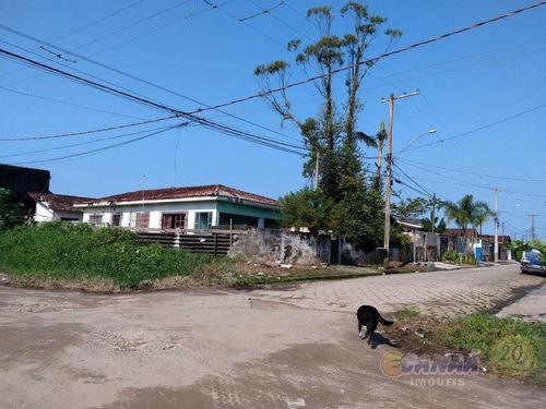 terreno, balneário samas, mongaguá - r$ 300 mil, cod: 7513 - v7513