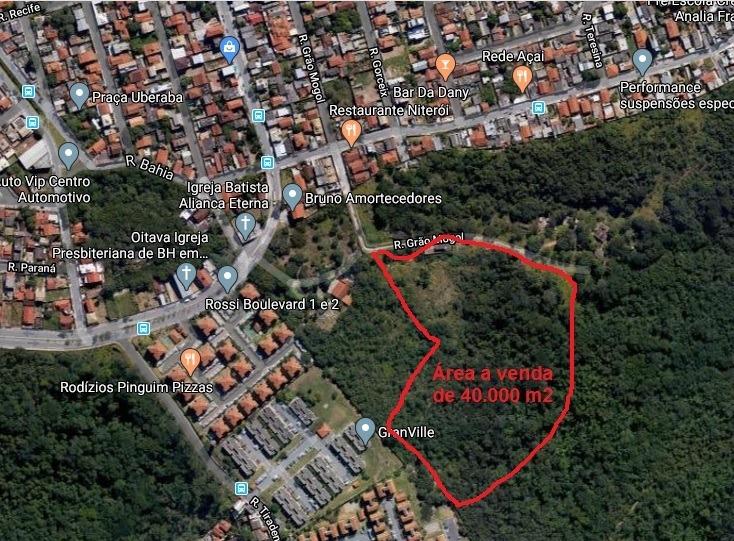 terreno barato bairro niteroi em betim
