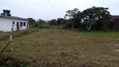 terreno barato com escritura na praia, 260m².