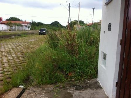 terreno barato na praia, rua calçada, 300m², docs ok!