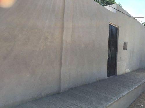 terreno bardeado con oficina y caseta para seguridad, ubicado en alfredo v. bonfil.