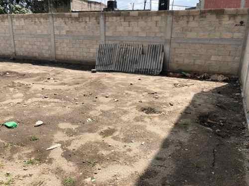 terreno bardeado en venta en capultitlán, toluca