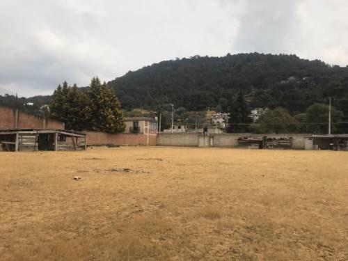 terreno bardeado en venta en san miguel ameyalco, lerma