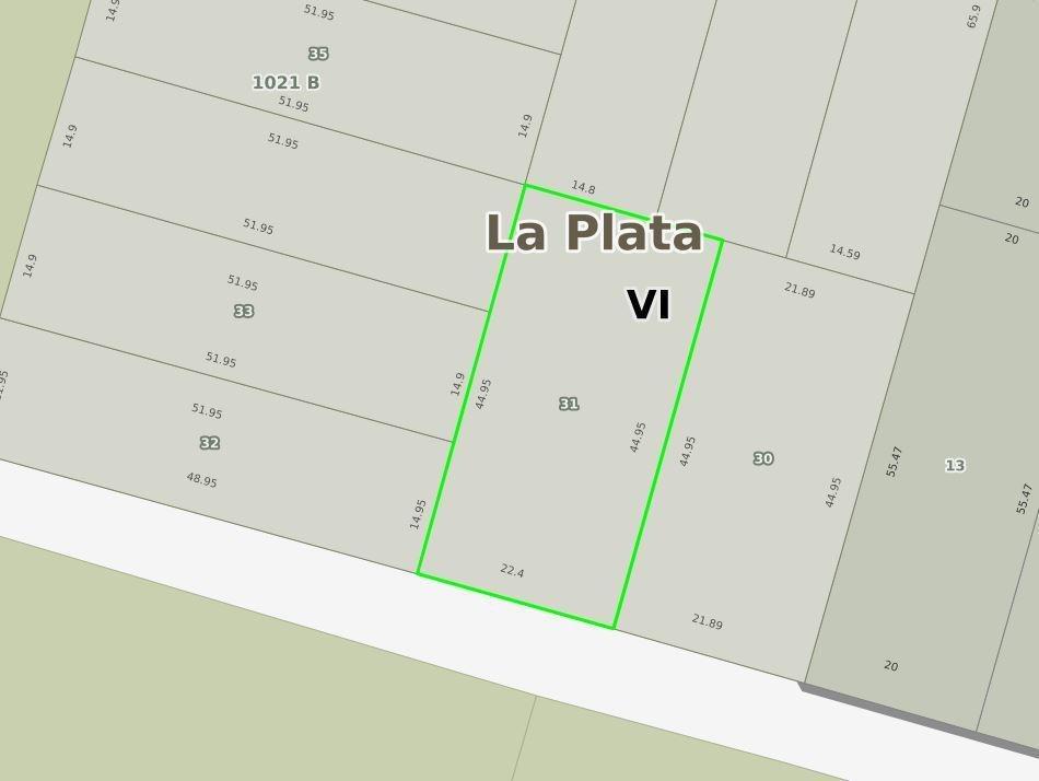 terreno barrio cerrado 22,4 x 44,95 mts -1,007 mts 2 - joaquín gorina