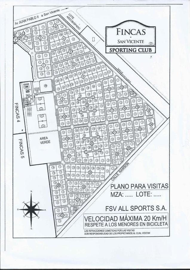 terreno - barrio fincas de san vicente - lote - canning - barrio privado - oportunidad