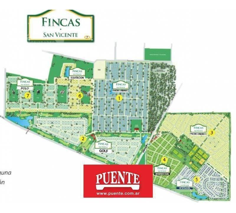 terreno - barrio fincas de san vicente - lote - canning - fincas -
