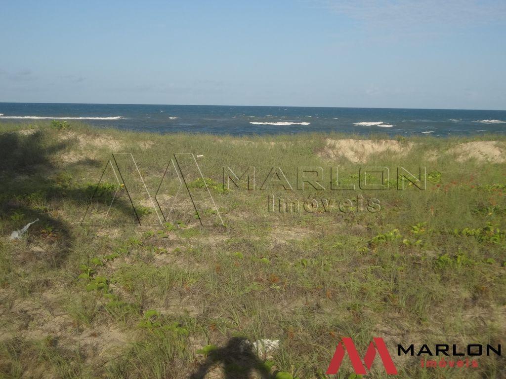 terreno beira mar na praia de tabatinga
