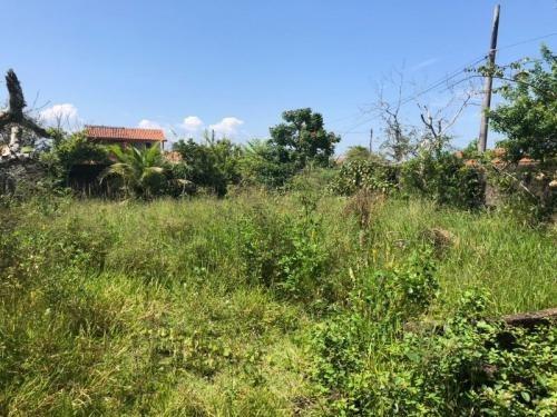 terreno bem localizado em itanhaém, lado praia - ref 3921-p