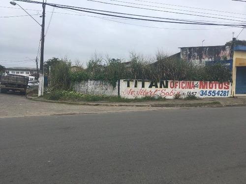 terreno bem localizado em itanhaém-sp - ref 4492-p