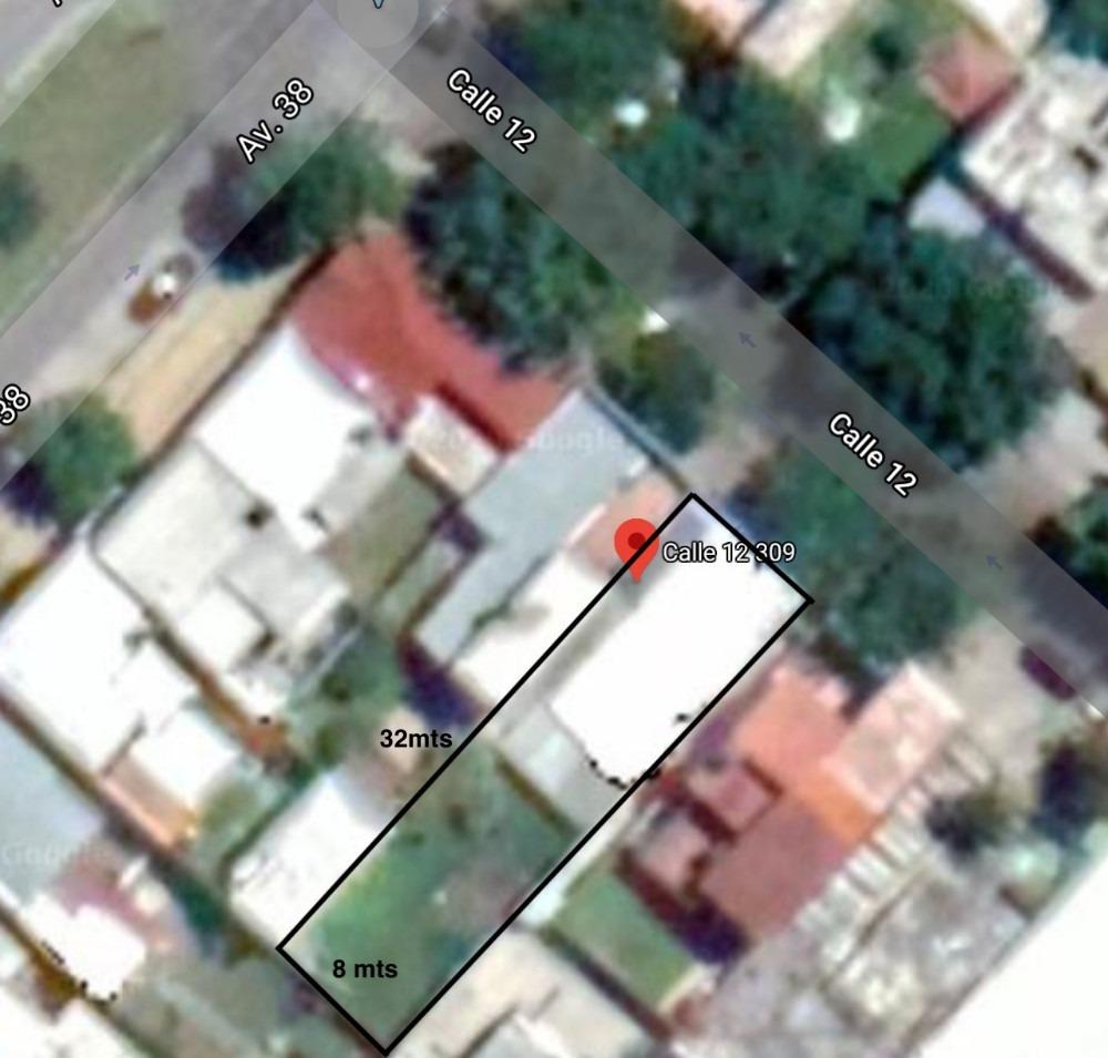 terreno calle 12 entre 38 y 39 - dueño directo