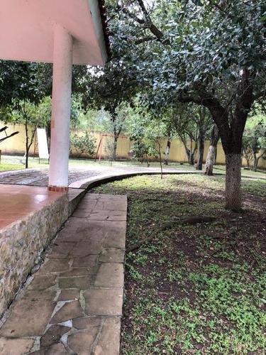 terreno campestre atras de la presa de la boca con alberca, palapa y casa