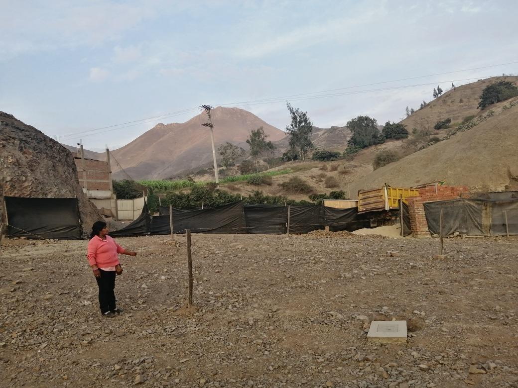 terreno campestre en pachacamac