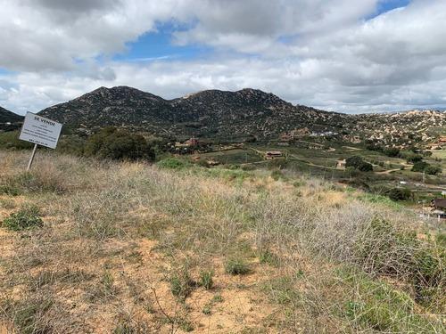 terreno campestre en rancho tecate fracción a