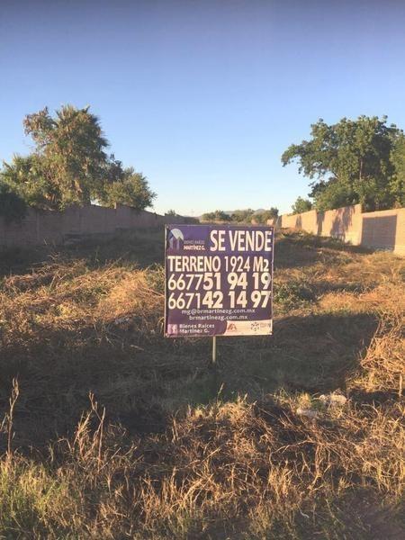 terreno campestre en venta en la higuerita culiacán, sin. $1'500,000