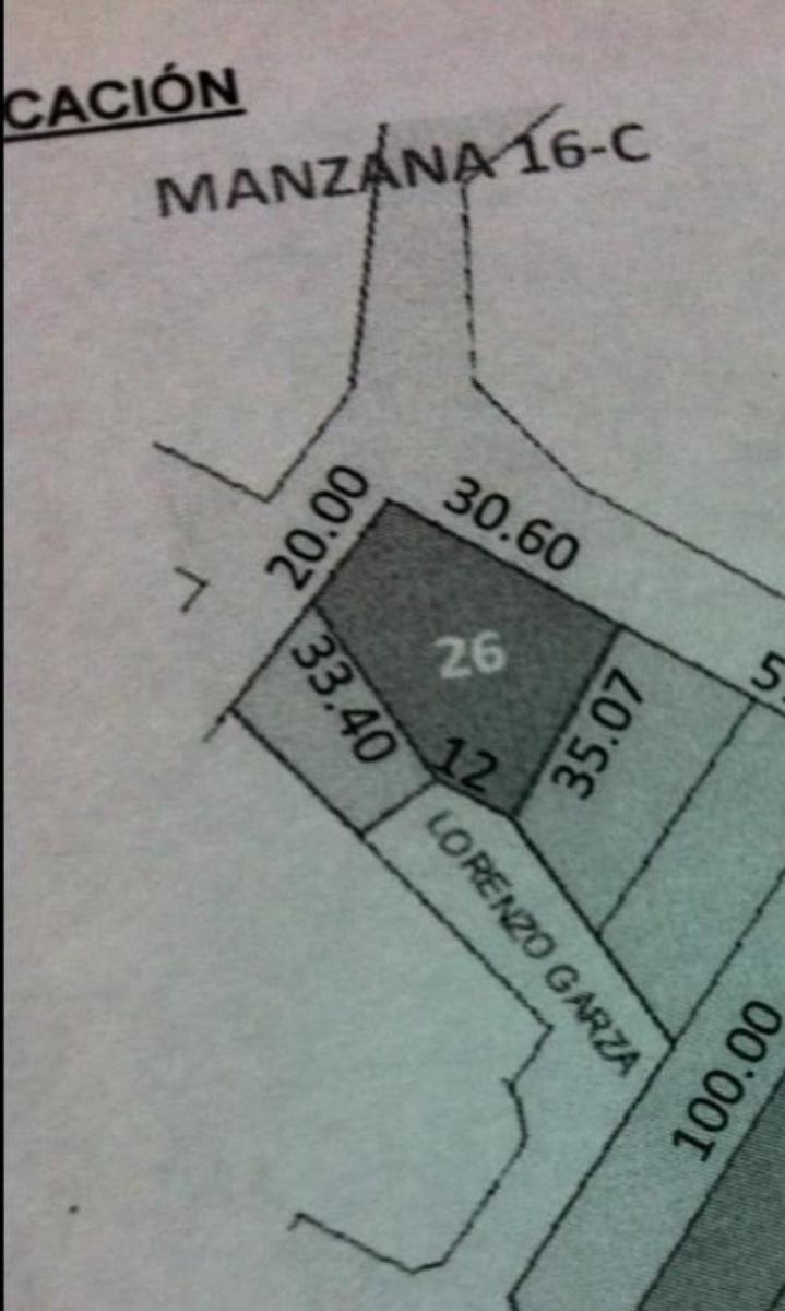 terreno campestre - esquina 1,181 m2