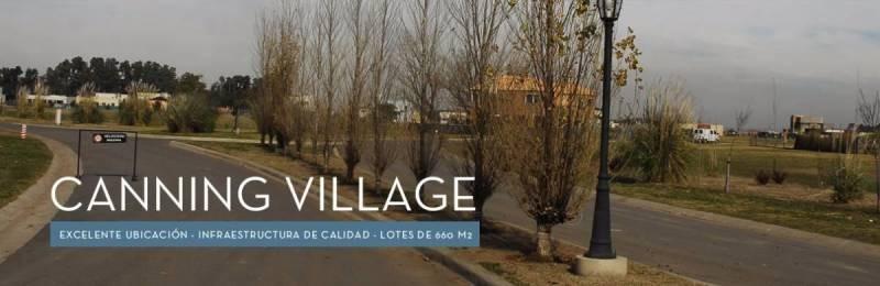 terreno canning  village